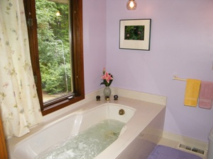 Lily Suite at the Self Realization Meditation Healing Centre, Bath MI USA
